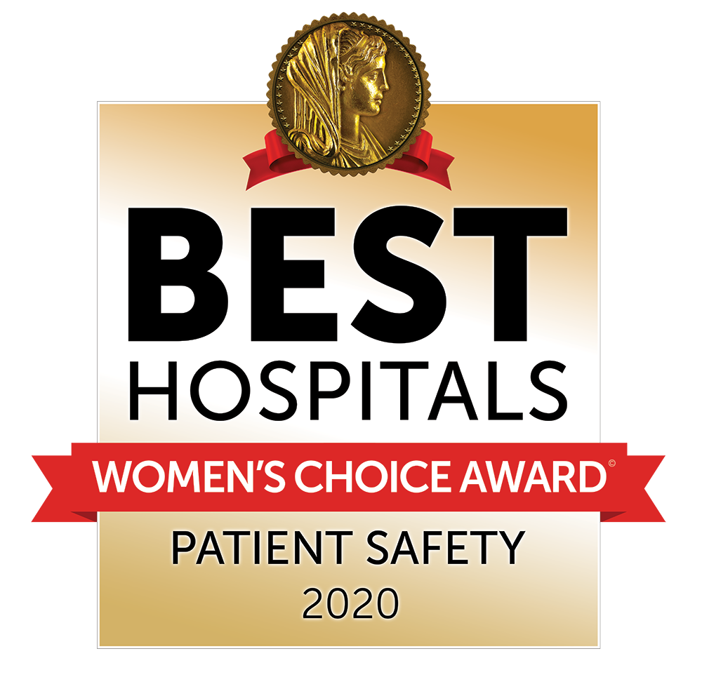 2020 Women's Choice Award - America's Best Hospitals Patient Safety